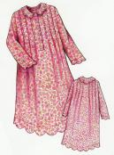 INVENTORY REDUCTION...The Prairie Rose Night Gown Child sewing pattern from Paisley Pincushion 2
